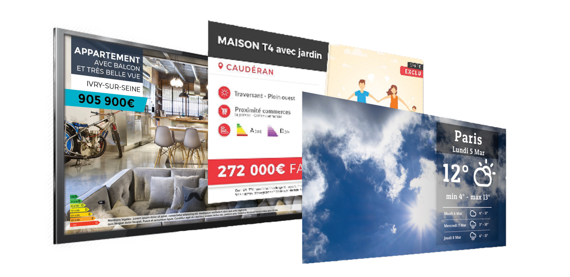 template-communication-ecran-digital-agence-immobilier